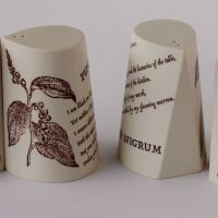 Goccia_ Salt & Pepper Shakers with imagery