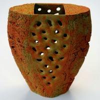 Orange Vase Form