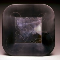 Solid-cast Square Plate #2