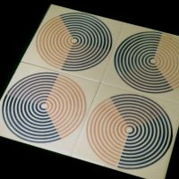 double printed tiles