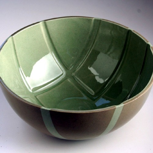Slipcast Inlay Bowl