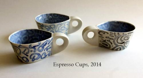 3 espresso cups