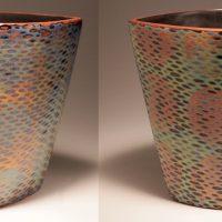 Vase (two views)
